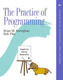 The Practice of Programming cover